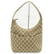 Gucci Hand Bag  Browns Canvas 1709274