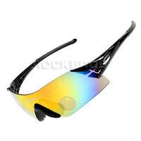 RockBros Cycling Sunglasses Bike Bicycle Sports Glasses Goggles Black