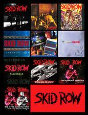 "SKID ROW album discography magnet (3.5"" x 4.5"") motley crue guns n roses"