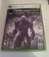 Enemy Territory: Quake Wars (Microsoft Xbox 360, 2008) Torn Plastic.