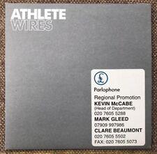 Athlete - Wires - Promo Card CD Single - 2005 - CDATHDJ007