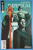 Imperium #8 Clayton Henry 1:20 Variant Cover VALIANT ENTERTAINMENT 2015