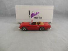 Extremely Rare Illustra Models IC3 Aston Martin DB5 Convertible in Red