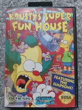 Krusty's Super Fun House (Sega Genesis)