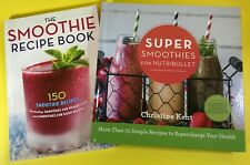 SUPER SMOOTHIES for NUTRIBULLET BLENDER DETOX HEALTHY WEIGHTLOSS RECIPE BOOK LOT