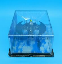 1989 Rare Eaglemoss Large Batman Batwing Automobilia Movie Special Edition Boxed