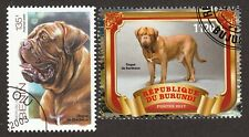 Dogue De Bordeaux * Int'l Dog Postage Stamp Art Collection* Great Gift Idea*