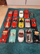 1:18 Modellautos-Sammlung Konvolut 15 Autos Ferrari´s,Porsche´s,Mercedes,usw...