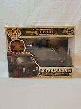 Funko Pops Rides Vaulted #25 A-Team Van With B.A.Baracus 2016, New (See Details)