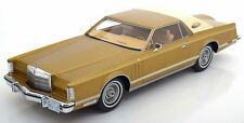 1978 Lincoln Continental MK5 Coupe Gold Metallic by BoS Models LE of 504 1/18