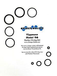 Tippmann Model 98 Paintball Marker O-ring Oring Kit x 4 rebuilds / kits