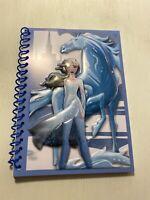 Disney Frozen II  50 Sheet Journal Notebook Size 5x7 Elsa New