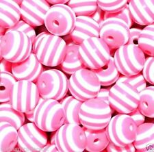 Resin Pink Jewellery Making Beads