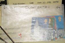 Great Britain Scott 671-5 unused XF MNH OG STAMPS