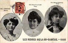 CPA PARIS Les Reines de la MI-CAREME 1906 (305369)