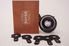 Boyer Paris Apo-Saphir 240mm 1:10 lens + waterhouse stops in wooden case ✅