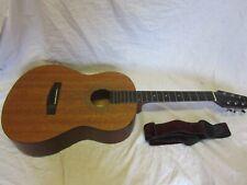Samick Dreadnought Acoustic Guitar LF-009-1 + Bag + Leather Strap