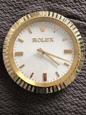 AUTHENTIC, ORIGINAL VINTAGE ROLEX DEALER /JEWELER WALL CLOCK. SUPER RARE! Works!