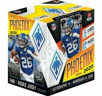 2020 Panini PHOENIX Football HOBBY BOX #13 RANDOM 1-TEAM BREAK Herbert AUTO? SBB