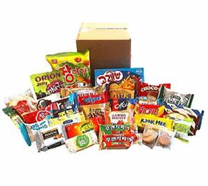 Excellent Korean Snack Box 33 Count Individual Wrapped Pack International Treat