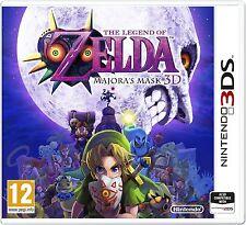 The Legend Of Zelda Majora's Mask 3DS PAL ESPAÑA NUEVO CASTELLANO MAJORAS