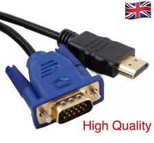 HDMI Male to VGA Male Video Converter Adapter Cable for DVD 1080P HDTV PC -1.8M