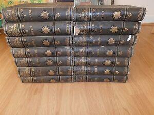 London Mackenzie The National Encyclopedia 1880 14 Volumes