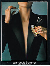PUBLICITE ADVERTISING 034   1986   JEAN-LOUIS SCHERRER   parfum