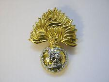 Fusiliers Beret Cap Badge  British Military - Brass Base Metal