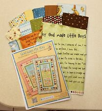 God Gave Me You Why God Made Little BOYS Quilt Kit by Henry Glass PRICE REDUCED