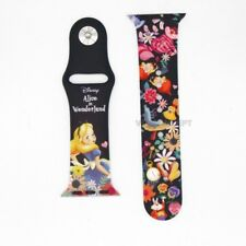 Authentic Disney Alice in Wonderland Band Replacement For Apple Watch 38/40mm