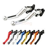 New Motorcycle CNC Short Adjustable Brake Clutch Levers For suzuki GSR600 06-11