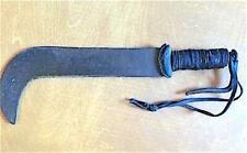 New listing Massive 18th Cent. Fascine Knife. Spectacular Blade And Thong-Wound Handle!