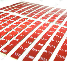 24 x Car Number Plate Sticky Pads Stickers Pads Double Sided Fixing Tape Strips