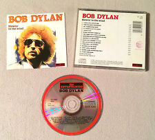 BOB DYLAN - BLOWIN IN THE WIND / CD ALBUM THE ENTERTAINERS 289 ( ANNEE 1990 )