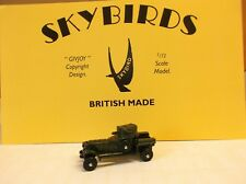 Skybirds Models. Rolls Royce Armoured Car.