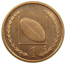 (R36) - Isle of Man - 1 Penny 1998 - Rugbyball Rugby ball - UNC - KM# 823.1