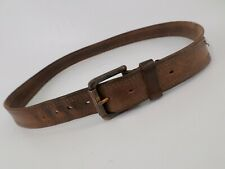 Levis Leather Belt Strauss & Co Roller Buckle 11LV02W Distressed Brown 40 42