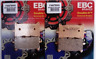 Honda CRF1000 Africa Twin (2016) EBC FRONT Sintered Brake Pads (FA679HH) 2 Sets