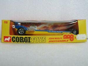 CORGI 170 JOHN WOOLFE 208 DRAGSTER. SUPERB EXAMPLE IN SUPERB ORIGINAL BOX.