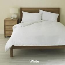 WHITE SOLID DUVET COVER SET TWIN SIZE 1000 THREAD COUNT EGYPTIAN COTTON
