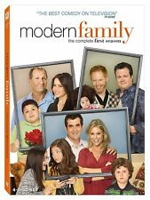 Modern Family The Complete First Season (DVD 1ST 1 TV SHOW 4-Disc Set Ed O'Neill