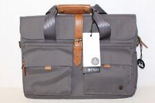 "New PKG Primary Collection 15"" Laptop Case Messenger Bag Gray PKG LB06-15-GRY"