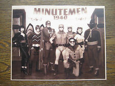 "Watchmen [ Minutemen Members ]  8"" x 10'' Movie Photo  Print Prop - B2G1F"