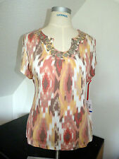 NEU  !!! Sehr Schöner Tunika / T-Shirt Marke Ruby Rd., Gr. 46 48