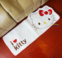 "New Cute Hello Kitty Bedroom Doormat Bath Mat Rug Pad Carpet 17"" x 45"""