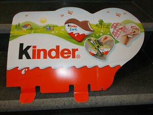 PAH KINDER FERRERO NUTELLA cuore kinder LOVE  59 X 37 cm