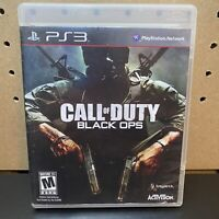 ACTIVISION CALL OF DUTY BLACK OPS PS3 VIDEO GAME - Complete & Tested