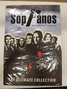 The Sopranos The Ultimate Collection Regions 1, 2, 3 24 Disc NEW