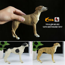 JJM 1/6 Greyhound Greadog Dog Pet Figure Animal Model Toy Gift Car Decoration